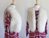 Vintage 1960s/70s Made New Zealand Sheepskin Vest