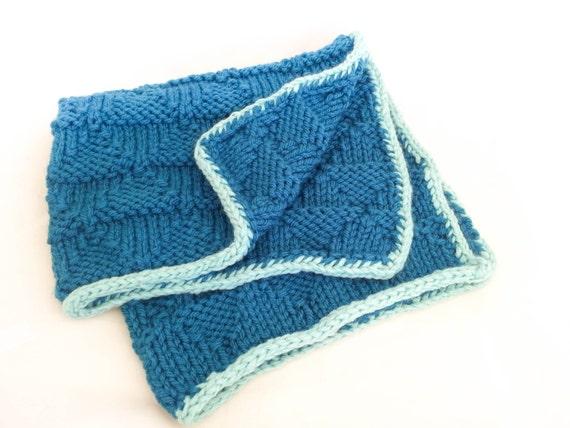 Knit Baby Blanket Pattern Super Bulky Yarn : KNITTING PATTERN, Baby Blanket Pattern, Bulky Yarn, Super Chunky Yarn, Playfu...