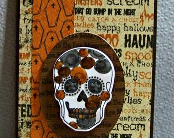 Dia De Los Muertos (Day Of The Dead) ... Greeting Card