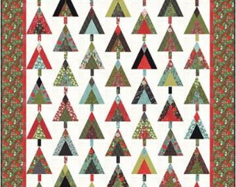 Juniper Berry Christmas Lap Quilt Pattern