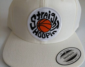 Straight Hoopin Snapback Basketball Caps mens womans