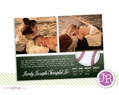 Little Slugger Birth Announcement