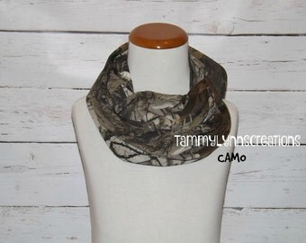 KIDS NEXT 2G Camo Scarf Infinity Jersey Cotton Blend Duck Dynasty Child's Accessories