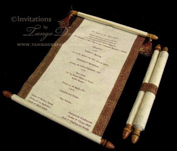The best wedding invitations for you sample scroll wedding invitations sample scroll wedding invitations filmwisefo