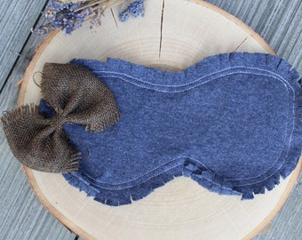 Denim Sleeping Eye Mask- Bridesmaid gift- Blindfold- Gifts for her- Insomnia- Eye Pillow- Travel accessory