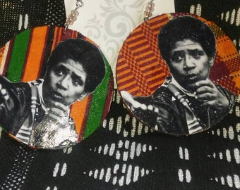 Audre Lorde Earrings