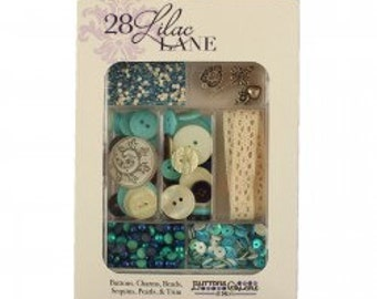 Embellishment Kit - Attic Findings 28 Lilac Lane by May Flaum LL103