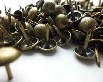 20 Size (7mm 23mm) Antique Brass Color Upholstery Tacks,push Pin,