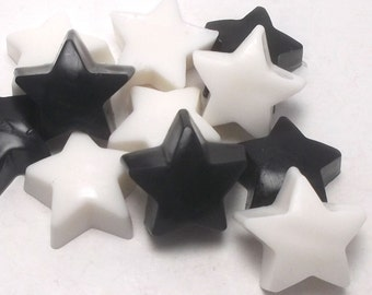 Star Wash, Star Soap, Star Party, Star Warrior, Trekkie, Holiday Soap, Guest Soap - 20 pc Soap Gift Set