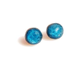 Blue AQUA Earrings