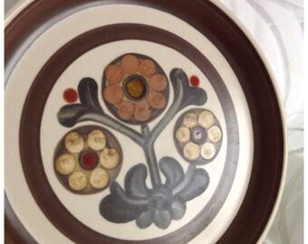SALE! Vintage Langley 'Mayflower' Side Plate, Designed by Gill Pemberton, 1965