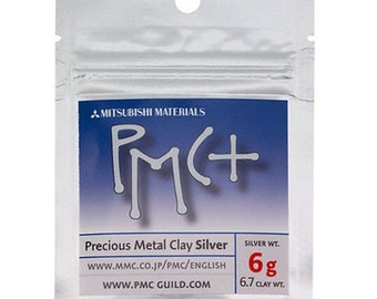 Pmc+ Silver Metal Clay Art 6g Jewelry Create Shapes Fire Precious Metals Wa 250-110