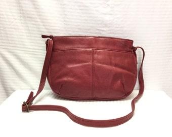 Red Leather purse,Bag,Bags, Purses, Shoulder Bag