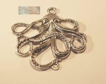 Charm connector octopus/kraken