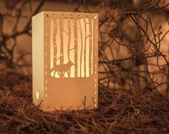 Paper lantern |  WALKING WOLF