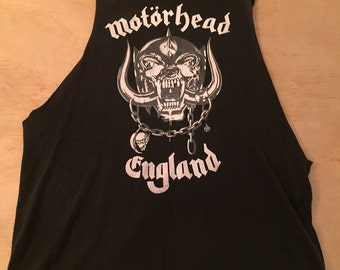 MOTORHEAD cut off shirt
