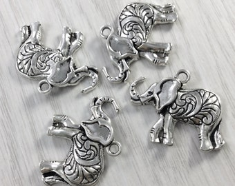 20 pcs  wholesale tibetan silver elephant charms  elephant  pendants elephant necklace