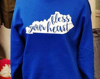 Bless your heart sweatshirt, Southern sweatshirt
