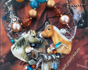Our 'Horsin Around' Expression Piece Necklace
