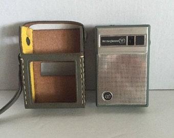ON SALE Vintage Westinghouse H-707P6Gpa Am 6 Transistor Radio