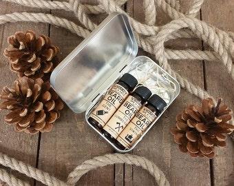 Beard Oil Sampler Kit - Pick 3 beard oil samples, beard conditioner, beard oil kit for men, beard moisturizer set, best beard oils for men
