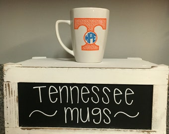 Tennessee Vols Volunteers Inspired Monogram Mug Power T