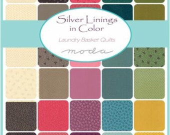 Silver Linings in Color - Mini Charms