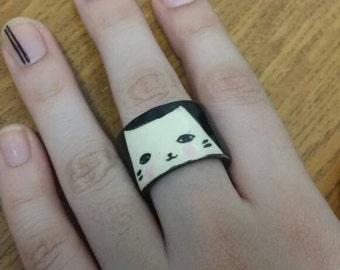 Ceramic cat ring