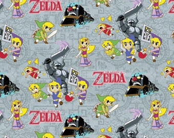 Nintendo Zelda Fabric Spirit Tracker From Springs Creative