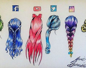 Social Media - PRINTS!!