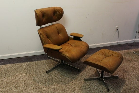 Mid century danish modern selig eames lounge by annexmarketplace - Selig eames chair ...