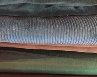 Green Huge Grab Bag of Various Fabric
