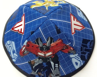 Transformers Cotton Kippah