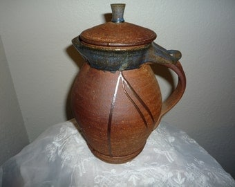 Pottery Decanter/Pitcher