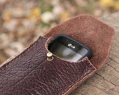 The Halbert - Leather Phone Case made from Buffalo Leather