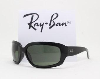 Ray Ban wrap around sunglasses, designer eyewear, classic glasses, black frame, RB4102. Raybans, Ray-Ban, Ray bans, Rayban, original,