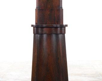 Alex Beckers c.1859 Revolving Stereoscope -Rare Mahogany Floor Model