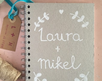Wedding personalized daily agenda