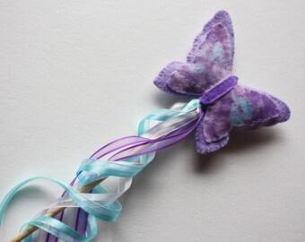 Magic Fairy Butterfly Wand - Purple
