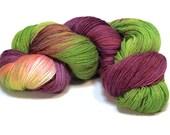 The Spirit--Baby Alpaca/Silk/Cashmere 3 ply light fingering--Tussie Mussie