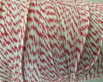 RED Bakers Twine • RED Twine • Gift wrapping • Scrapbook • Crafting•  Christmas twine • holiday wrapping • holiday twine • Christmas wrappin