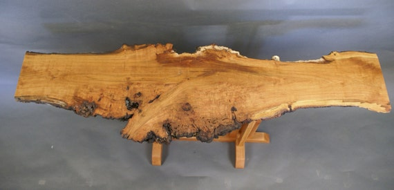 Branch, a Wild Cherry Burl Top Occasional Table
