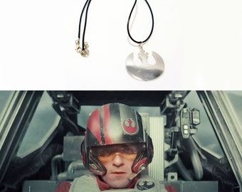 Star Wars Rebel Alliance Luke Skywalker Leia Necklace Pendant Charm
