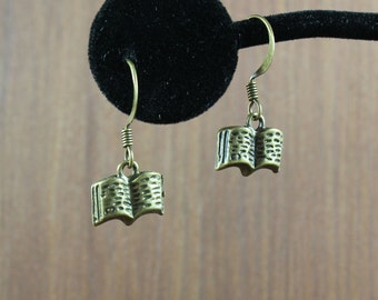Book Earrings