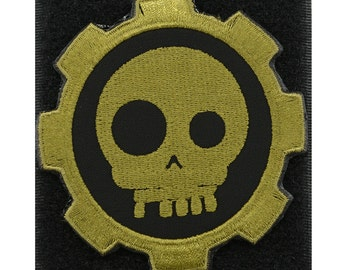 Skull Gear Tactical Embroidery Patch