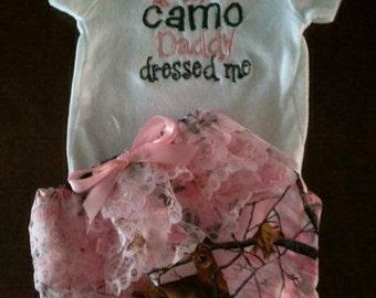 Camo Diaper cover