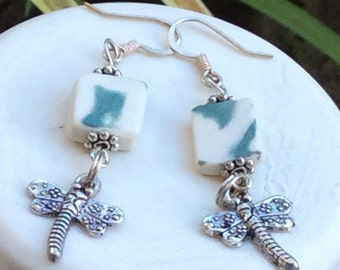 Dragon fly earings