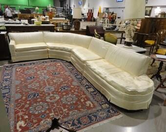 Fabulous Retro 1960's Sectional Sofa (1)) Piece Left