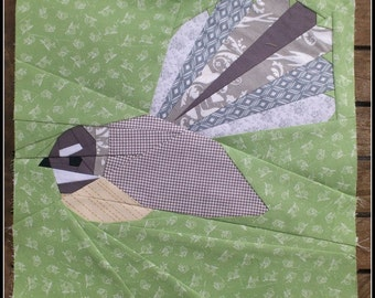 Fantail- A 12 Inch Foundation Paper Pieced Pattern