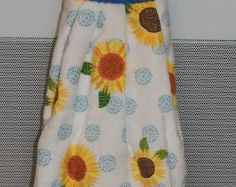 Sunflowers Hanging Towel